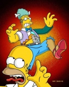 The Simpsons 15x01 : Treehouse of Horror XIV- Seriesaddict